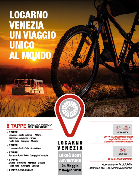 LOVE_ Locarno-Venezia_Bike&Boat Adventure